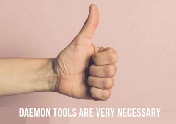 Daemon Tools Are Very Necessary